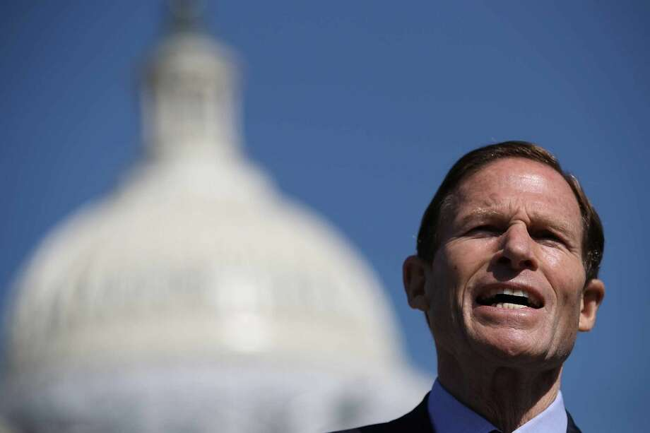 A Quinnipiac University poll released Tuesday, June 7, 2016 gives Sen. Richard Blumenthal, D-Conn. a 2-1 lead over his Republican challengers. (Photo:Win McNamee)