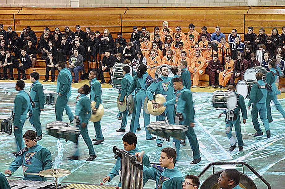 Contributed photoNorwalk Winter Percussion Ensemble at this weekend's MAC championships.