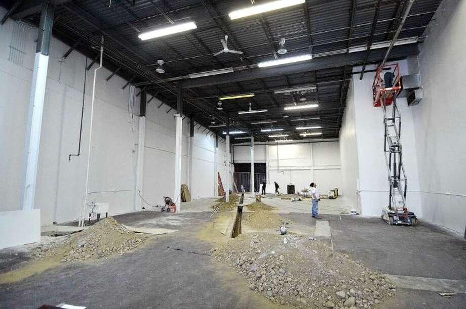 Hour Photo/Alex von Kleydorff Interior of the new Gymastics center on Main Ave in Norwalk