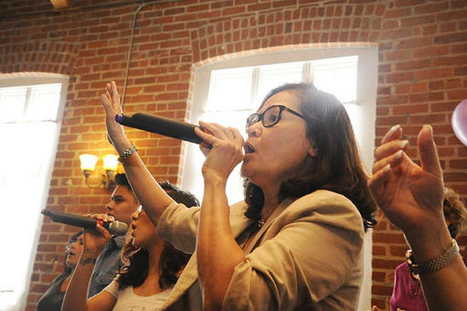 Susan Tantio celebrating 20 years at the Word Alive Bible Church in Norwalk. Hour photo/Matthew Vinci