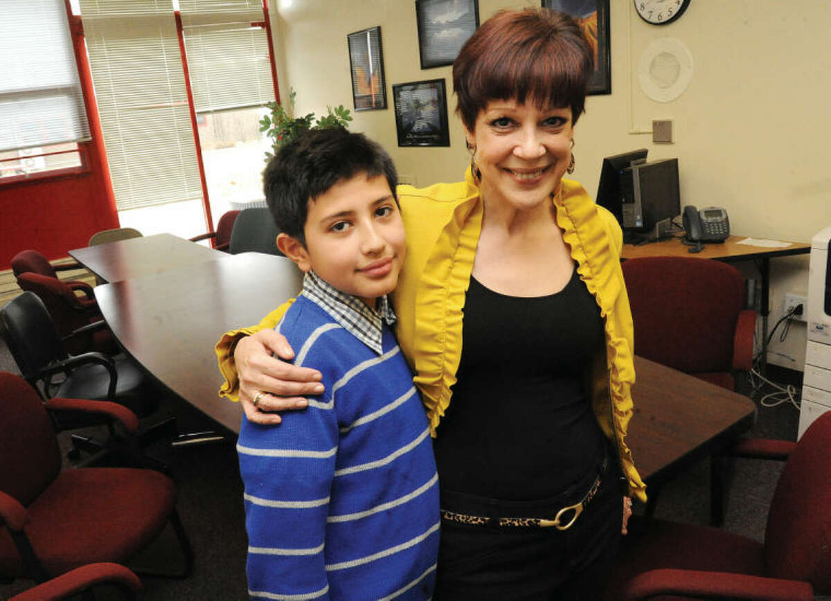 Miriam Gonzerelli, Turn of River Middle School in Stamford has been named the local winner of the Barnes & Noble My Favorite Teacher Contest. Gonzerelli was chosen from entries at the Barnes & Noble at Stamford Town Center. Gonzerelli was nominated by student Luis Guaillas.