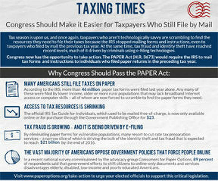 Congress Should Make It Easier for Taxpayers Who Still File by Mail