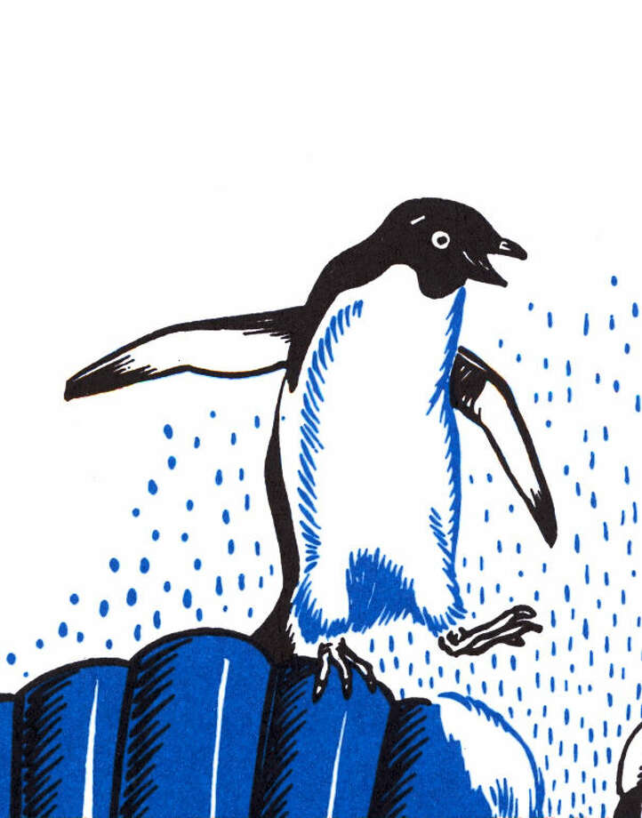 """Mr. Popper's Penguins"" was written and illustrated by Robert Lawson, who is the subject of a show at the Fairfield Museum and History Center through September 18. (Photo: Contributed)"