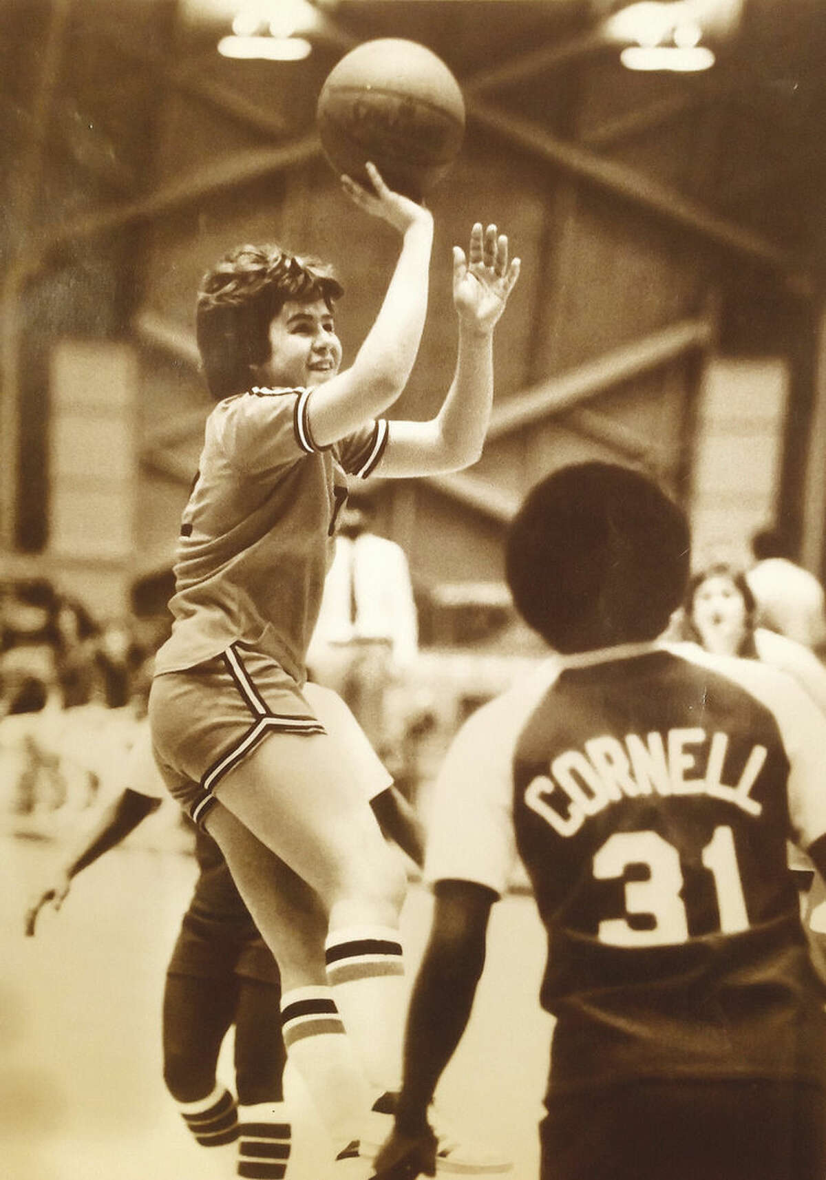 Contributed photo Former Weston star Ellen Tomasiewicz during her time at Princeton. Tomasiewicz will be inducted into the ...... on Wednesday.