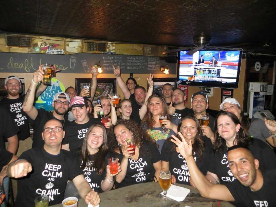 Take part in the Danbury Chive 3D-Block's charity bar crawlSaturday, benefitting the Renewal House, a homeless shelter in Danbury.Find out more:http://bit.ly/1VGAhvB