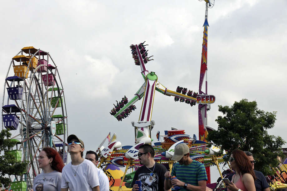 Check out all the food, games, and attractions at the McKinley School Carnival on Friday, Saturday, and Sunday at Jennings Beach in Fairfield. Find out more: http://bit.ly/1SAig15