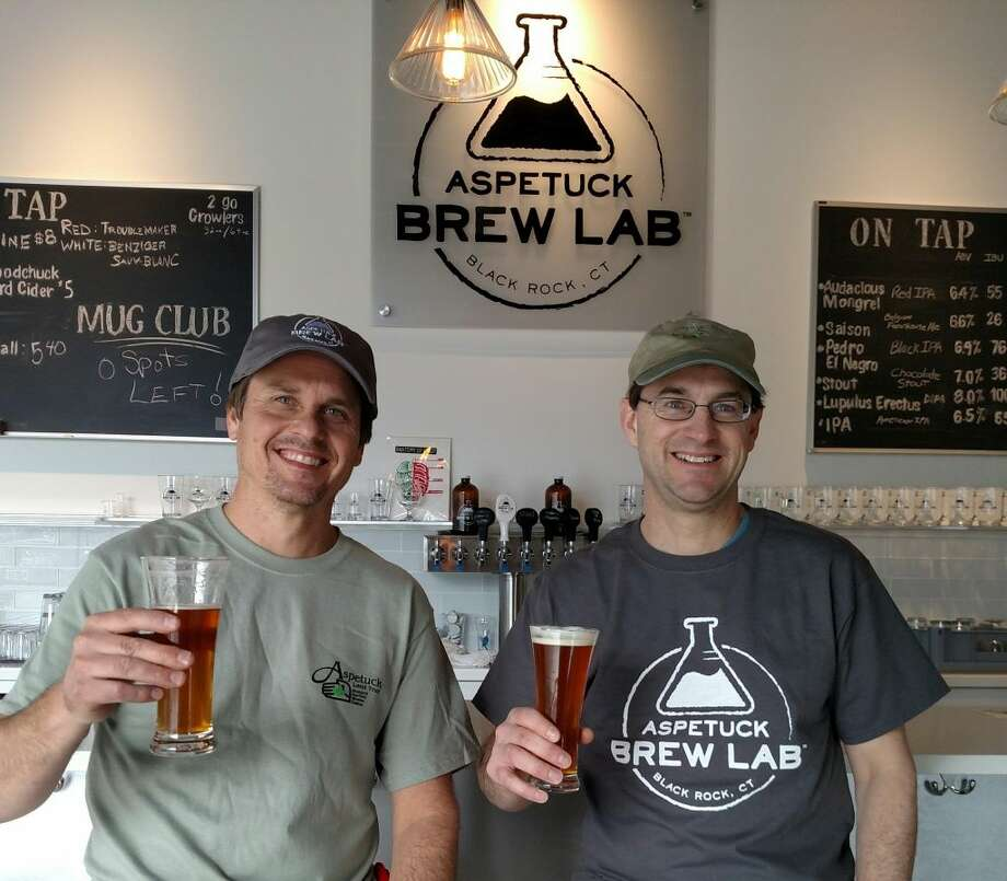 Newly opened Aspetuck Brew Lab, located in Bridgeport, is partnering with the Aspetuck Land Trust in recognition of Earth Day on Friday they'll donate $1 for every pint sold and $2 for every 64oz growler sold to the trust. Find out more: http://bit.ly/1SVj7TQ