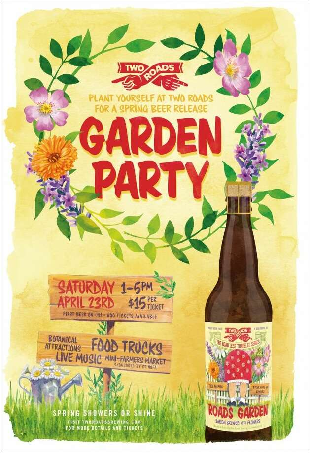 "Two Roads is hosting a Garden Party on Saturday, where they'll debut their latest beer, the ""Roads Garden."" Find out more: http://bit.ly/1Wh4iAo"