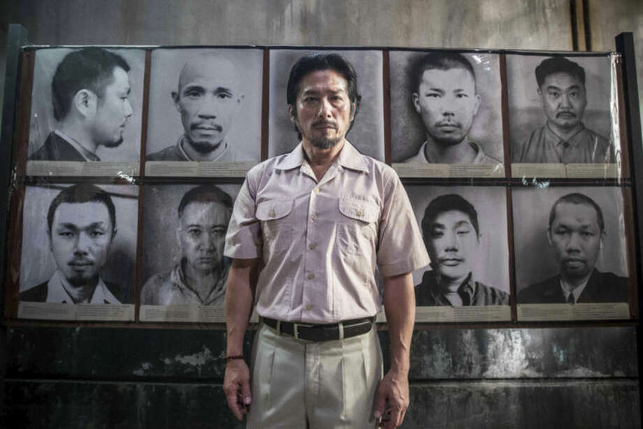 """This image released by The Weinstein Company shows Hiroyuki Sanada in a scene from """"The Railway Man."""" (AP Photo/The Weinstein Company, Jaap Buitendijk)"""