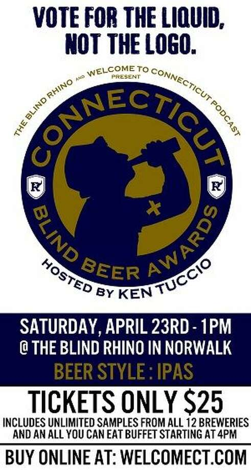 The Blind Rhino and Welcome To Connecticut Podcast are teaming up to bring you the very first Connecticut Blind Beer Awards, hosted by Ken Tucci, on Saturday. Find out more: http://bit.ly/22TaJde
