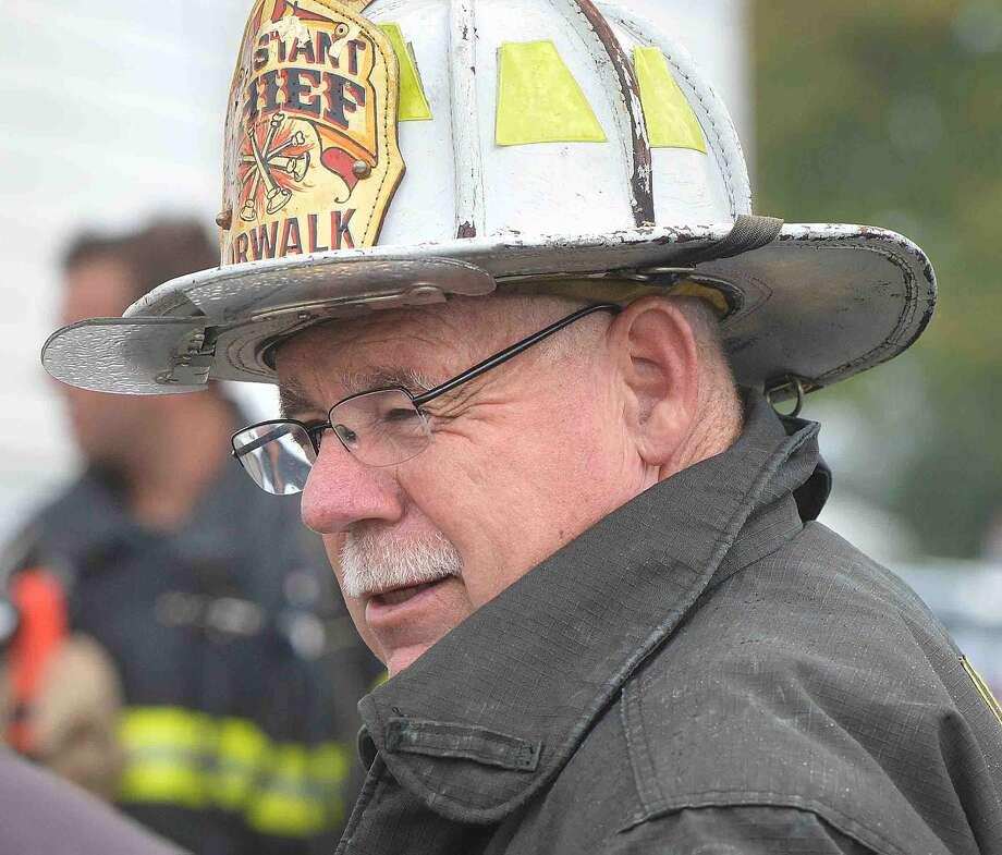 Hour Photo/Alex von Kleydorff Norwalk Fire Departments Larry Reilly