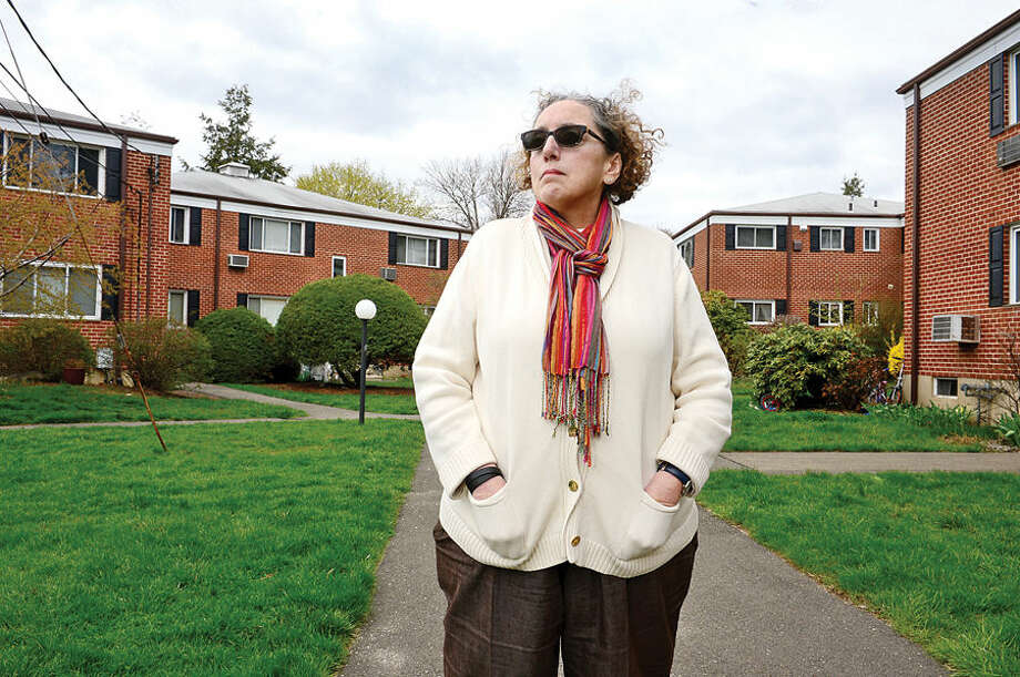 Hour photo / Erik Trautmann Ann M. Romanello reflects on how the proposed sale of Dreamy Hollow Cooperative Apartments is affecting residents.