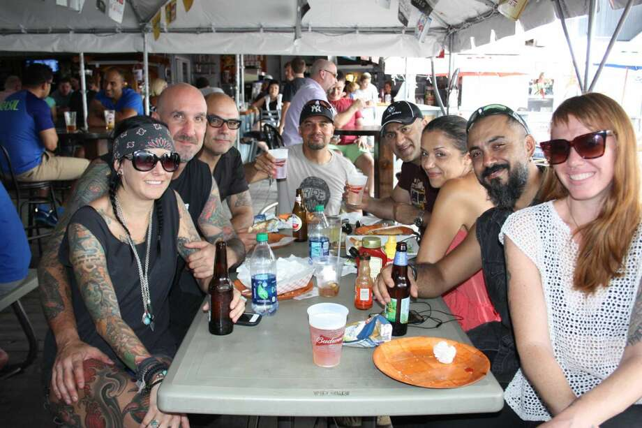 Were you SEEN enjoying the weather at Candlewood Lake in Danbury and Down the Hatch Restaurant on August 30, 2015