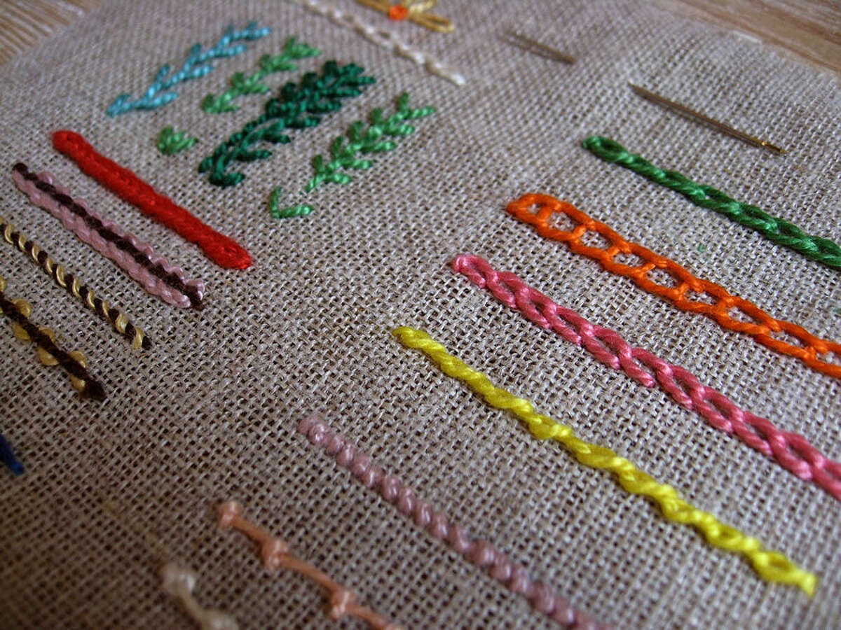 The Fairfield County Chapter of the Embroiderers' Guild of America will present a series of free workshops at the Wilton Historical Society on three Saturdays in May - May 2, 9 and 30 from 2-3:30 p.m.