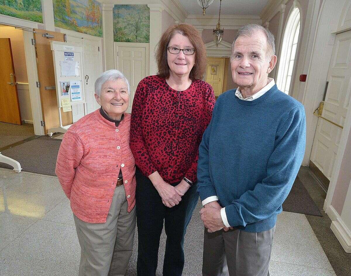 Judy Zucker, Karen Birck and Bruce Hampson will be honored by the Wilton Democratic Town Committee.