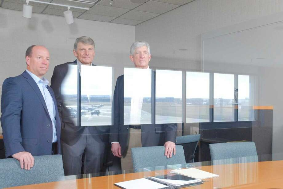 From left: Dennis Olcott, Charles Johnson and David Brody of XTI Aircraft, a start-up developing an experimental jet, in Englewood, Colo. The recent death of the start-up's intended chief executive, Jeff Pino, raised an issue for the company many small businesses are rarely prepared to face: What happens when a founder or key executive unexpectedly dies?