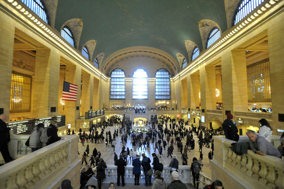 A power outage that affectied sections of Grand Central Terminal could cause scattered delays on Metro North train service in and out of New York City on Monday, Feb. 15, 2016.