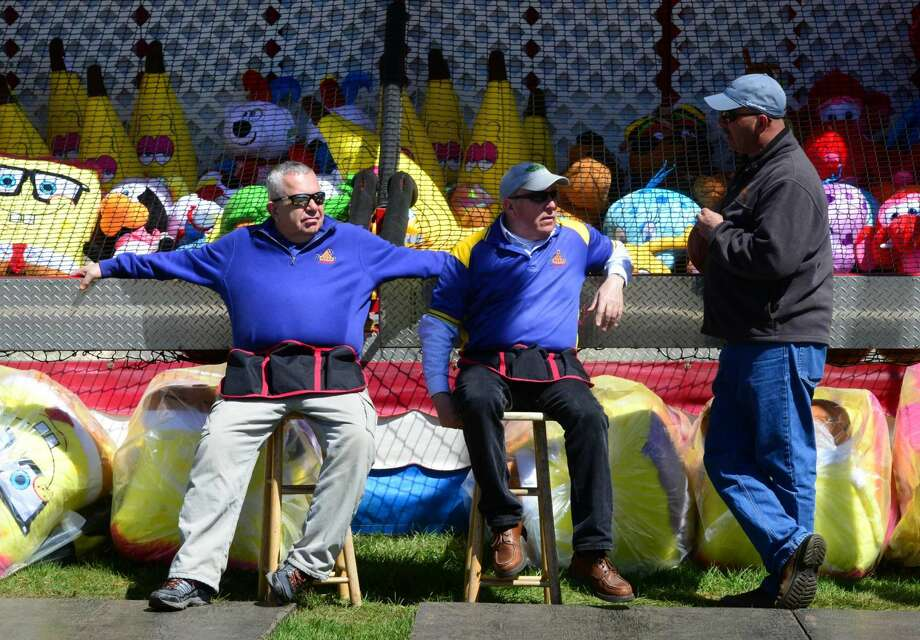 Scenes from the Trumbull Rotary Club annual carnival in Trumbull, Conn., on Saturday Apr. 16, 2016. The Trumbull Rotary Carnival, now in its 25th year, raises money for local and international charity projects. The carnival continues Sunday from 1 to 5 p.m.
