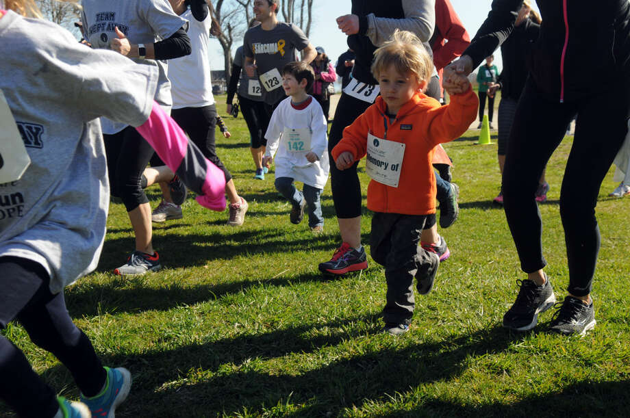 CancerCare's fourth annual 2016 Walk/Run for Hope at Greenwich Point in Greenwich, Conn., Sunday, April 17, 2016. More than 300 people came out to support CancerCare, which is a free, professional support service available to anyone with a cancer diagnosis.