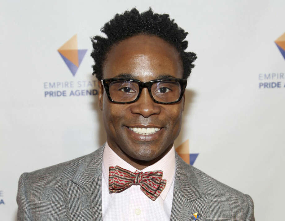 "FILE - This Oct. 17, 2013 file photo shows actor-singer Billy Porter at the Empire State Pride Agenda 22nd Annual Fall Dinner in New York. Concord Records will release ""Billy's Back on Broadway"" on April 15, 2014, a 10-song album that includes ""Don't Rain On My Parade,"" ""Luck Be A Lady,"" ""I've Gotta Be Me"" and ""Everything's Coming Up Roses."" (Photo by Donald Traill/Invision/AP, File)"
