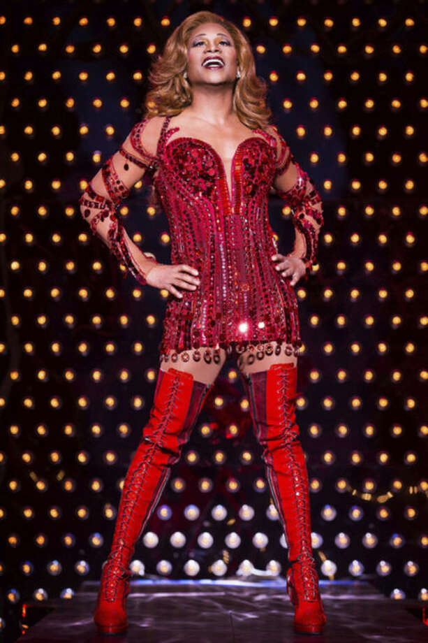 "This theater image released by The O+M Company shows Billy Porter during a performance of ""Kinky Boots."" Concord Records will release ""Billy's Back on Broadway"" on April 15, 2014, a 10-song album that includes ""Don't Rain On My Parade,"" ""Luck Be A Lady,"" ""I've Gotta Be Me"" and ""Everything's Coming Up Roses."" (AP Photo/The O+M Company, Matthew Murphy)"