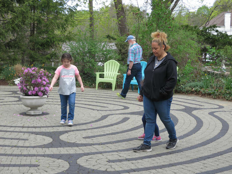There were tours of the restored Labyrinth, the historic cemetery, and the church.