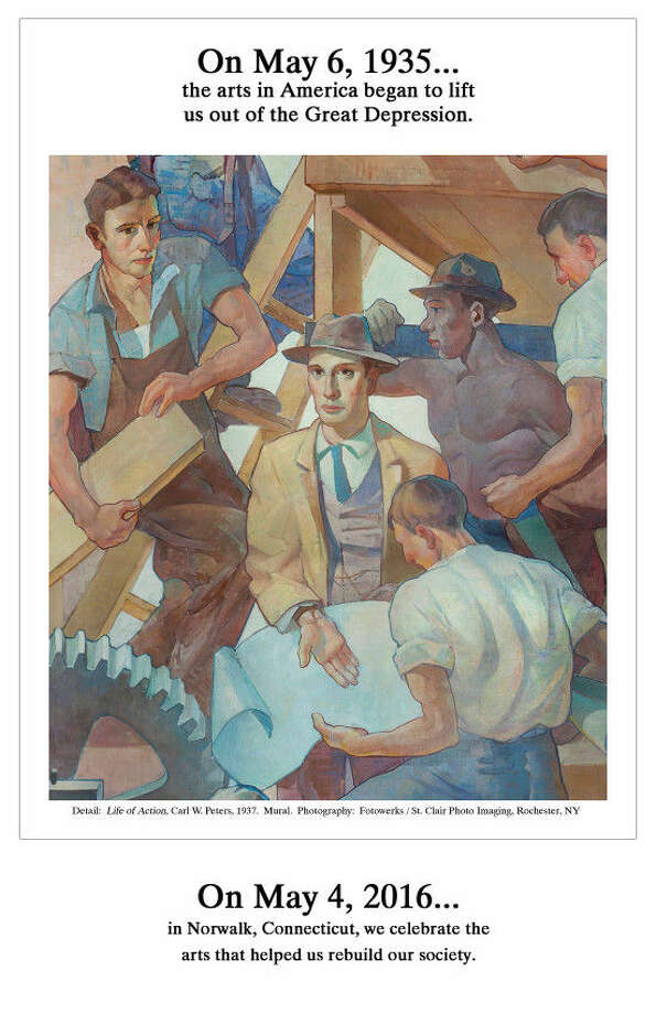 """On Wednesday, May 4th at 6:30pm, Norwalk Community College will screen """"Enough to Live On: The Arts of the WPA"""" as the concluding film in its Movies-of-the-Month free film series. Ashford, Connecticut independent filmmakers Michael Maglaras and Terri Templeton of 217 Films will introduce the film and take questions following the screening."""