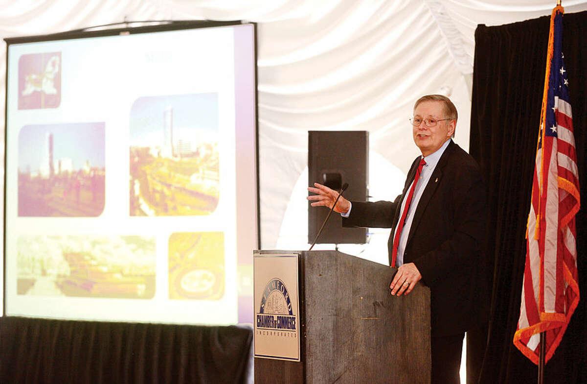 Mayor David Martin delivers his annual