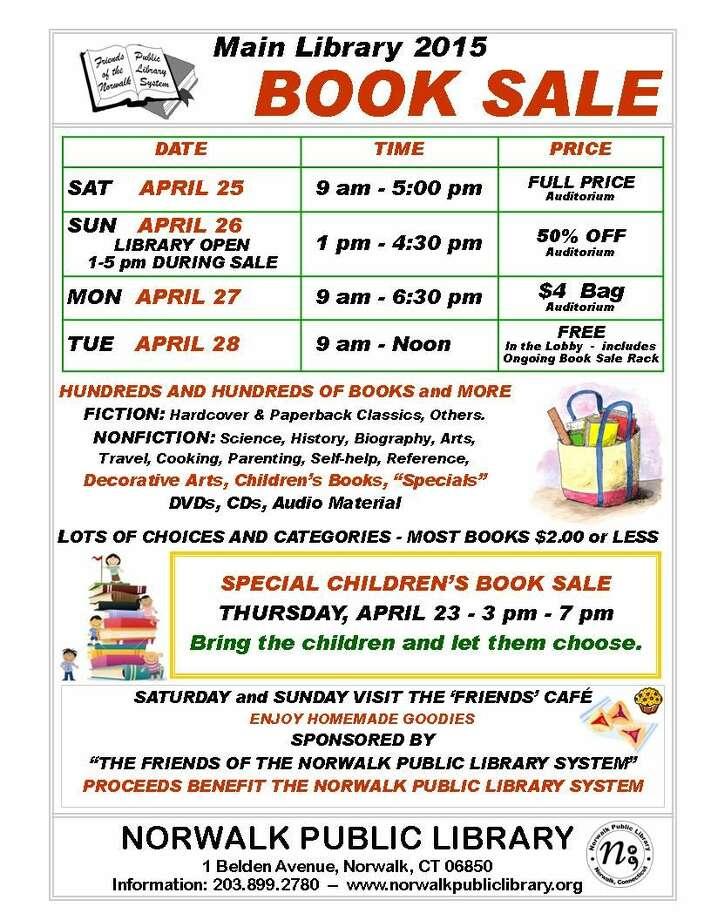 Spring Book Sale 2015 Norwalk Public Library