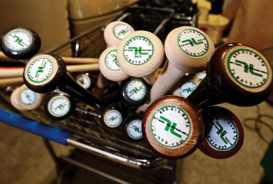 Hour photo / Erik Trautmann Local baseball bat company, Tucci Lumber, has a new facility located on Wilson Ave.