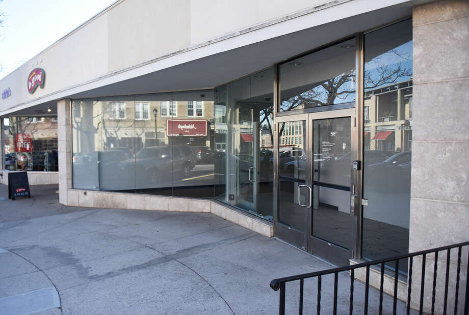 Tesla has signed a lease for the location at 340 Greenwich Ave., Greenwich, Conn., photographed here on Monday, Feb. 22, 2016, and plans to open a showroom and educational gallery there.