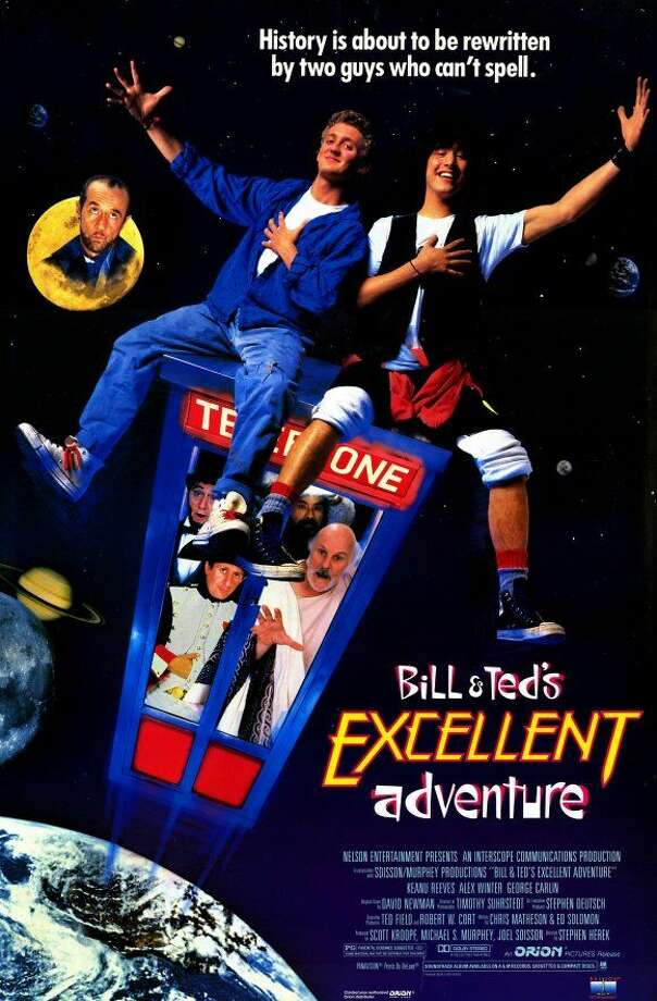 """""""Bill & Ted's Excellent Adventure"""" expires:May 1 from Netflix"""