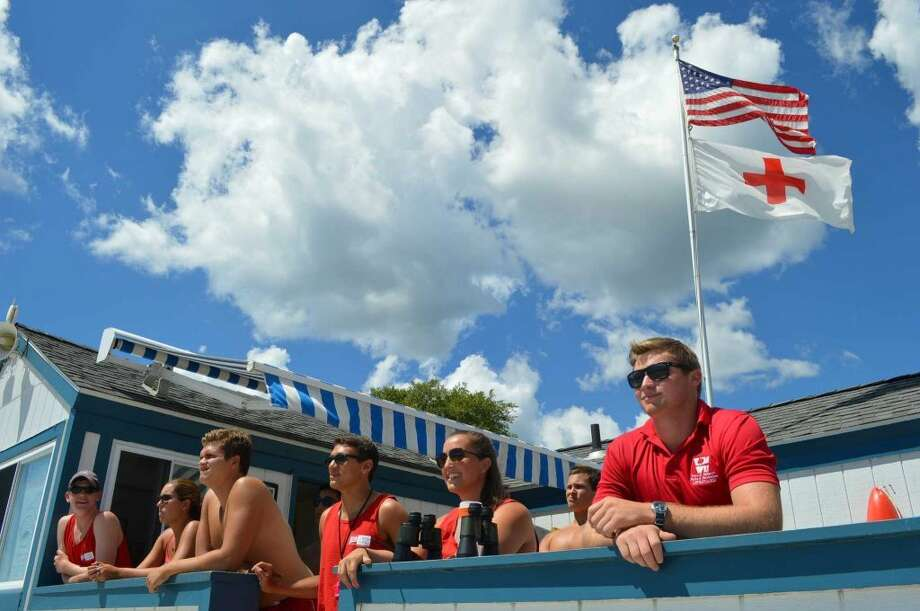 Westport lifeguards. (Photo: Jarret Liotta)