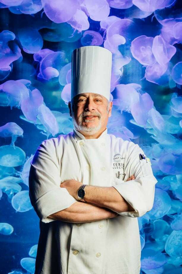 Chef Brad Stabinsky, of Stratford, is executive chef at the Maritime Aquarium in Norwalk. (Photo: Chris Setter/For Hearst Connecticut Media)