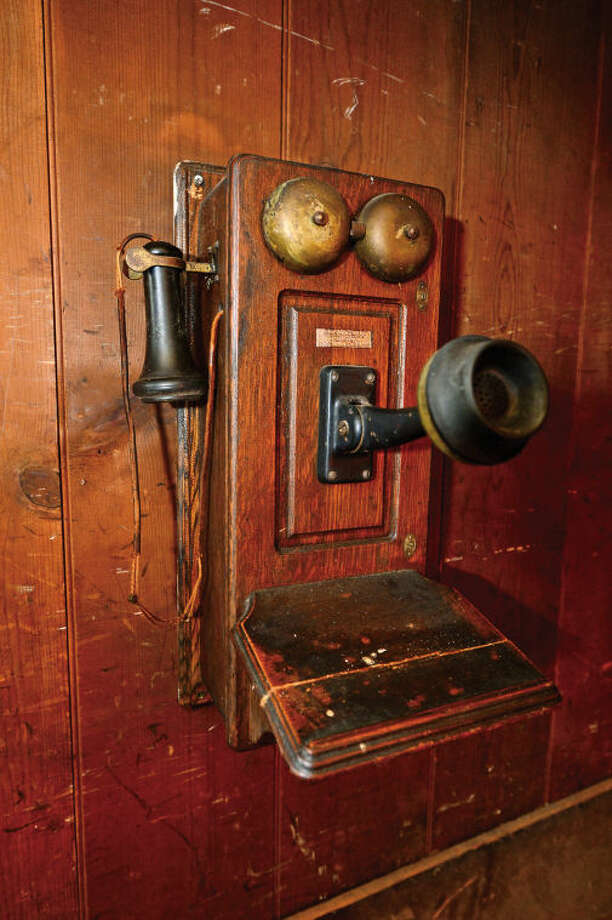 Hour photo / Erik Trautmann The Silvermine Tavern and New England Estate Sales has catalogued all the unique antique items the tavern has collected over the years before they hold an estate sale on April 25th.