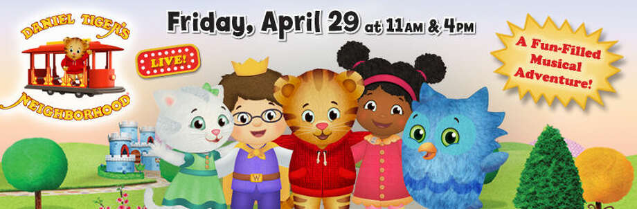 """""""Daniel Tiger's Neighborhood"""" comes to the Stamford Palace onFridayfor two shows.Find out more:http://bit.ly/1VWHDur"""