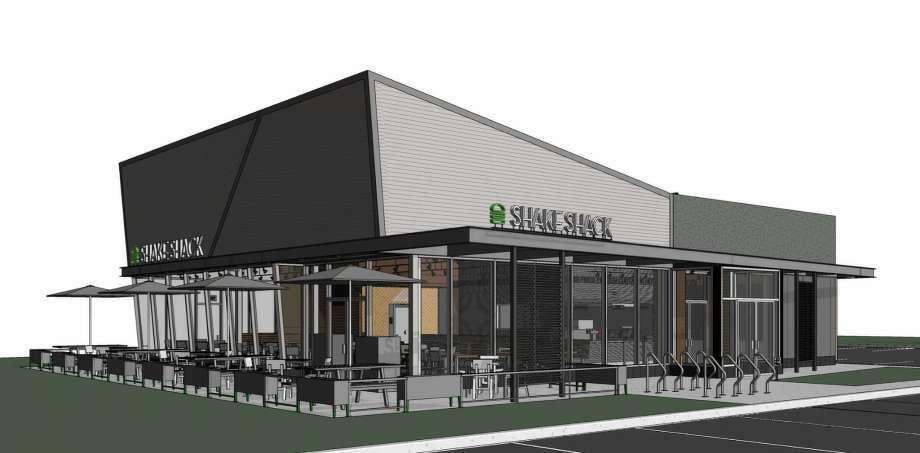 An architectural rendering of the proposed Shake Shack at 1340 Post Road. (Photo: Contributed)