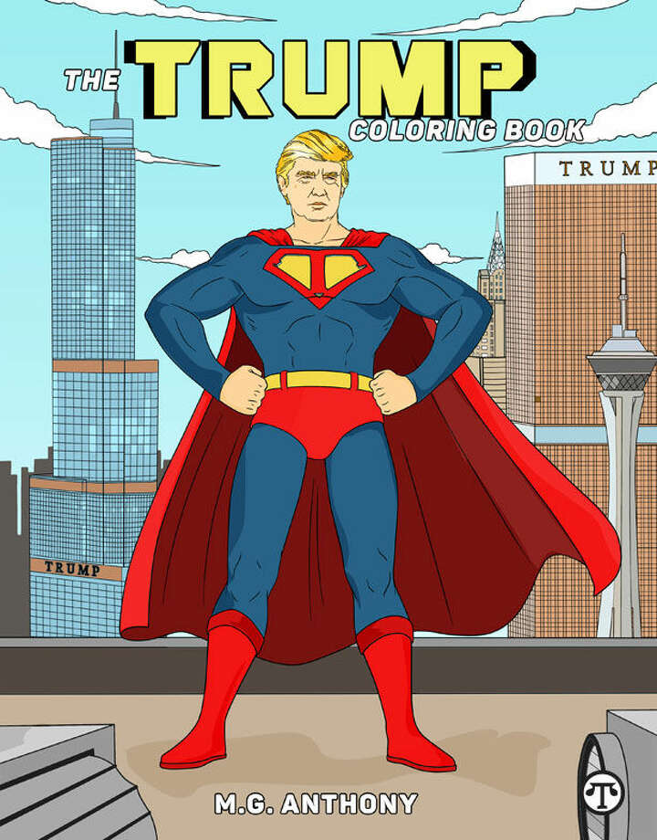 Color Donald Trump's world with a new coloring book. (NAPS)
