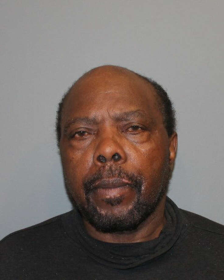 Police say David Smith was arrested on a host of charges after a South Norwalk resident reportedly observed Smith in his driveway stripping parts off his vehicle.