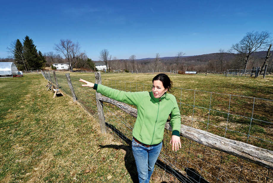 Dina Brewster runs The Hickories Farm in Ridgefield, which is owned and operated by local woman. Agriculture in the state of Connecticut has seen a rise in women-farmers.