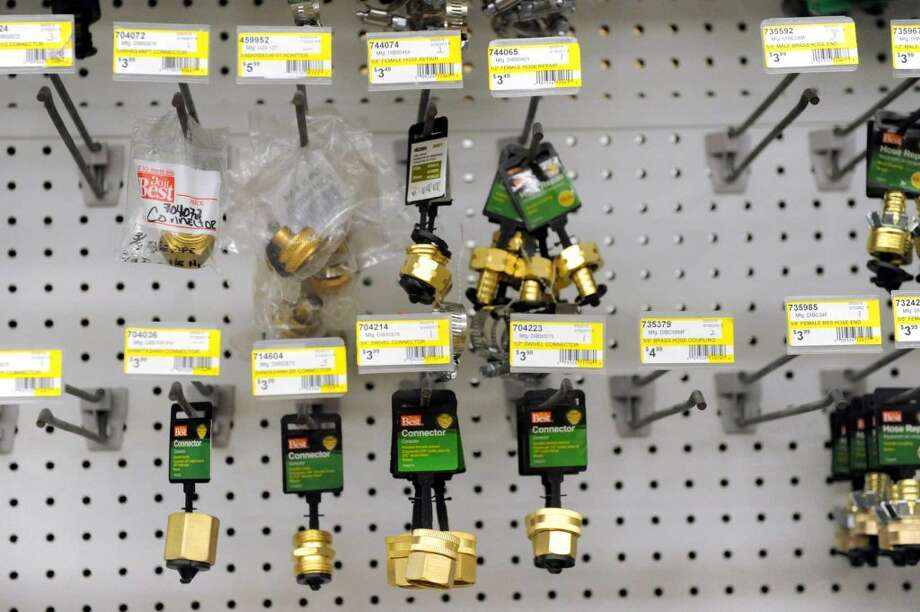Connectors for sale on Thursday, March 10, 2016, at Phillips Hardware in Colonie, N.Y. The store will close on Saturday. (Cindy Schultz / Times Union)