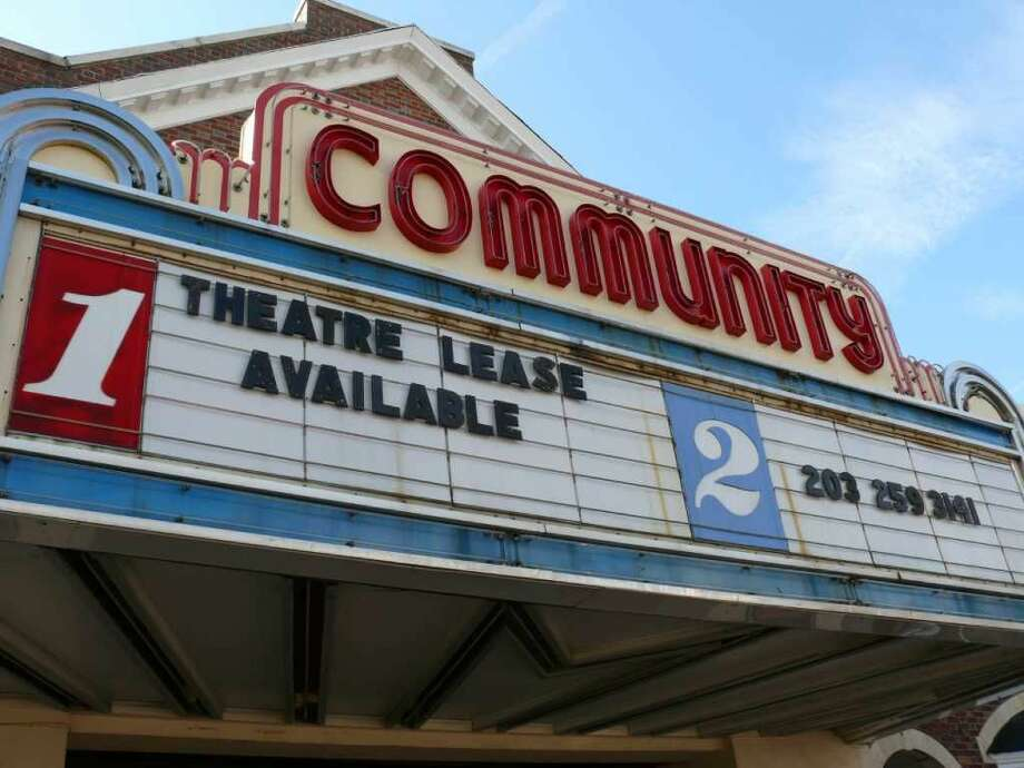 The owner of the Community Theatre at the intersection of Post and Unquowa roads has begun advertising the property's availability.