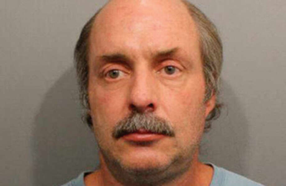 Kenneth Phelan (above) entered guilty pleas on Thursday, April 17 to four counts of risk of injury to a minor for repeatedly exposing his genitals to an 8-year-old girl.