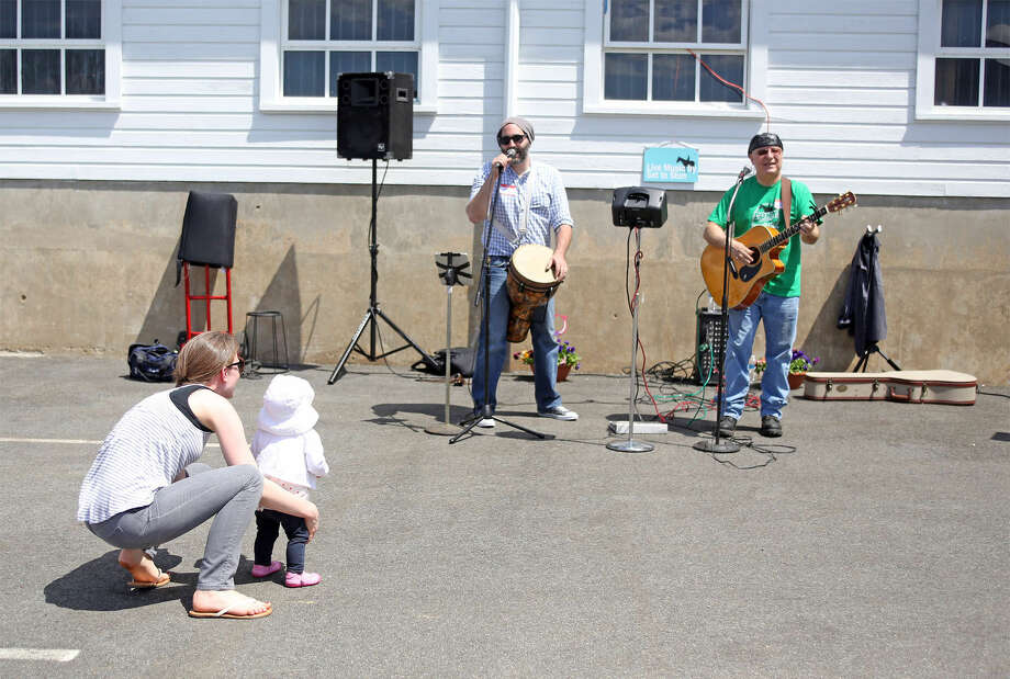Set To Stun performs during the 3rd annual Pony Rides For A Purpose event to benefit the Jessica Rekos Foundation at the The 2nd Company Governor's Horse Guard in Newtown, CT Sunday afternoon. Hour Photo / Danielle Calloway