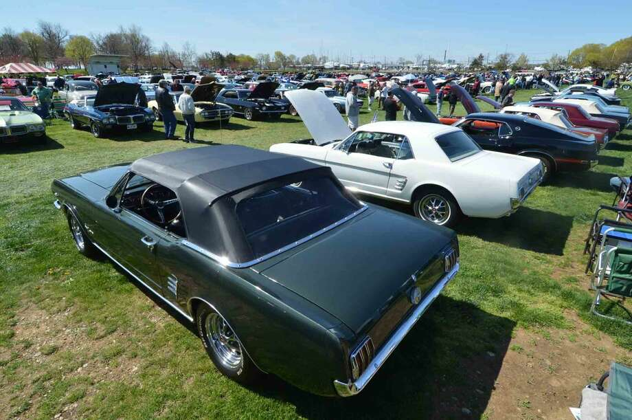 42nd Annual Gateway Antique Auto Show at Taylor Farm on Sunday in Norwalk Conn. April 24 2016