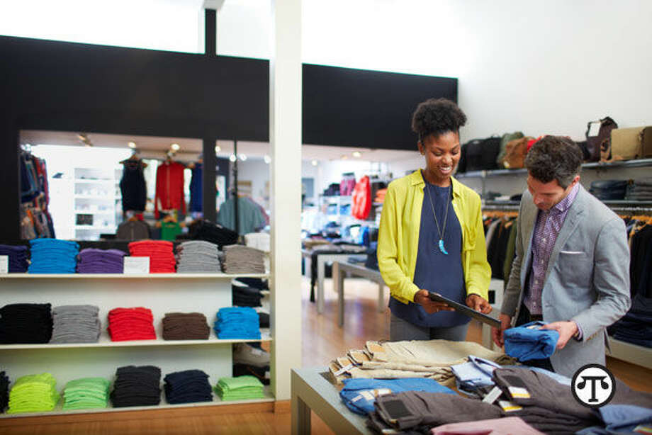 Smart technology helps one fashion consultant keep her clients looking smart. (NAPS)