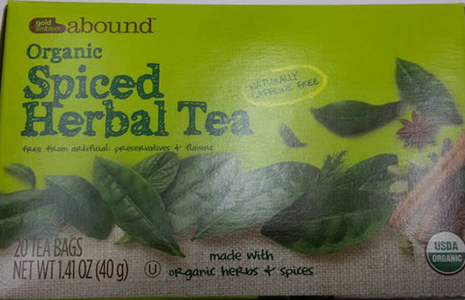 "The product is labeled ""Gold Emblem Abound Organic Spiced Herbal Tea 1.41 oz"" and was packed in 1.4 oz cartons. The recalled product has a single best by date of 18 Mar 2018 with a UPC code 0 50428 541043. No other best by dates are affected. The product was available at CVS Pharmacy stores nationwide. Read more: http://bit.ly/21xJvcX"