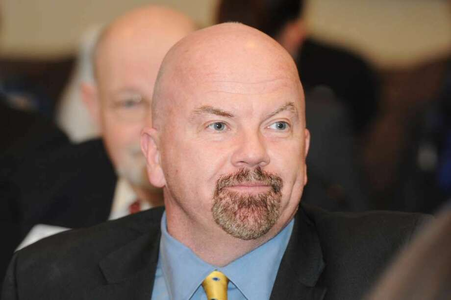 State Rep. Joe Gresko, D-Stratford, said the new state budget would mean property tax aid for vehicle owners in his town. (Photo: Ned Gerard)