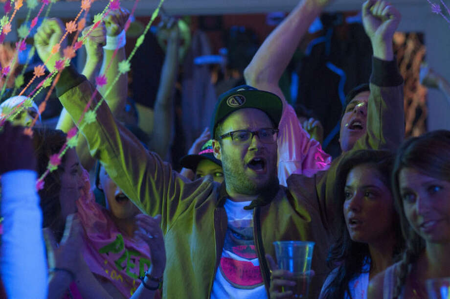 "This image released by Universal Pictures shows Seth Rogen in a scene from ""Neighbors."" (AP Photo/Universal Pictures, Glen Wilson)"