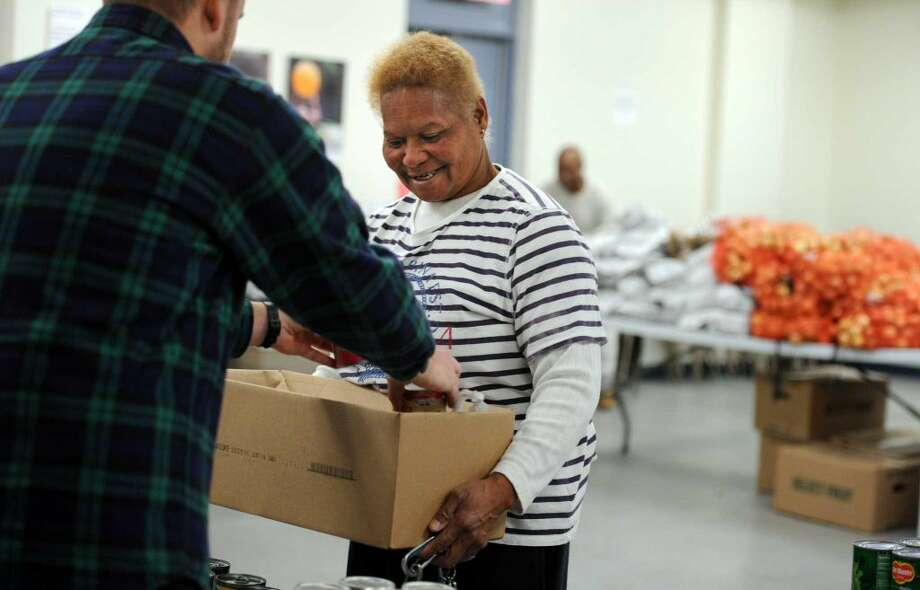 New Haven County had an overall food insecurity rate of 13.9% (119,880), child food insecurity rate of 18.6% (34,690), average cost of meal of $3.03, and amount needed to address food need of $64,057,000. (Photo: Autumn Driscoll)